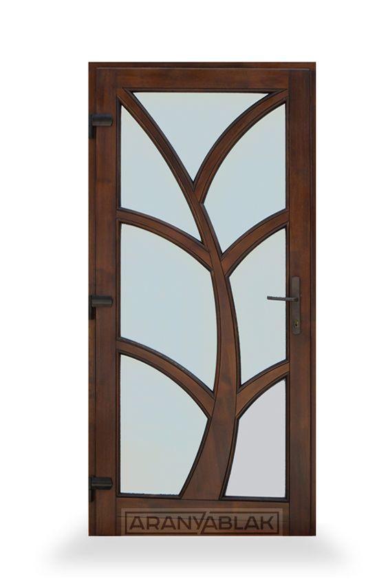 Amazonit, üveges.  Fa bejárati ajtó.  Biztonságot hoz minden otthonba. Igen tartós, hosszú távú megoldás, mindezt magas minőségen, és kedvező áron. Egyedi méretben is.