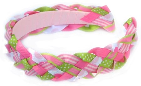 How To Make Braided/Woven Headband Instructions--Part II