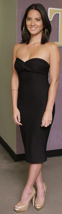 Olivia: Fabulous LBD.