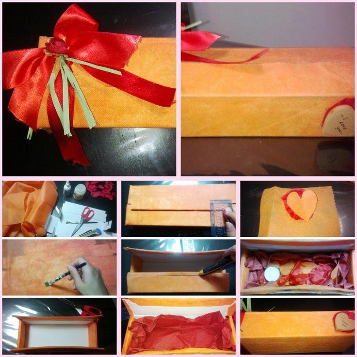 Gift box, Pacco regalo personalizzato, Geshenk, Love box