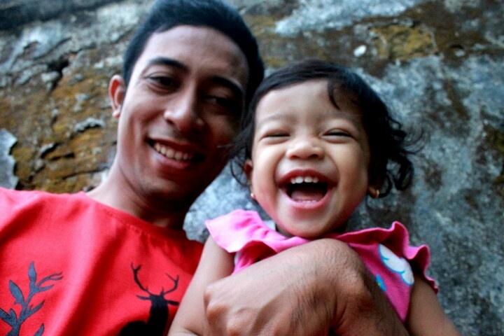 Happy laugh