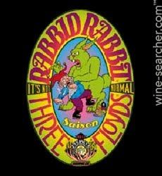 Stores and prices for 'Three Floyds Rabbid Rabbit Saison Ale Beer, Indiana, USA'. Find who stocks this wine, and at what price.