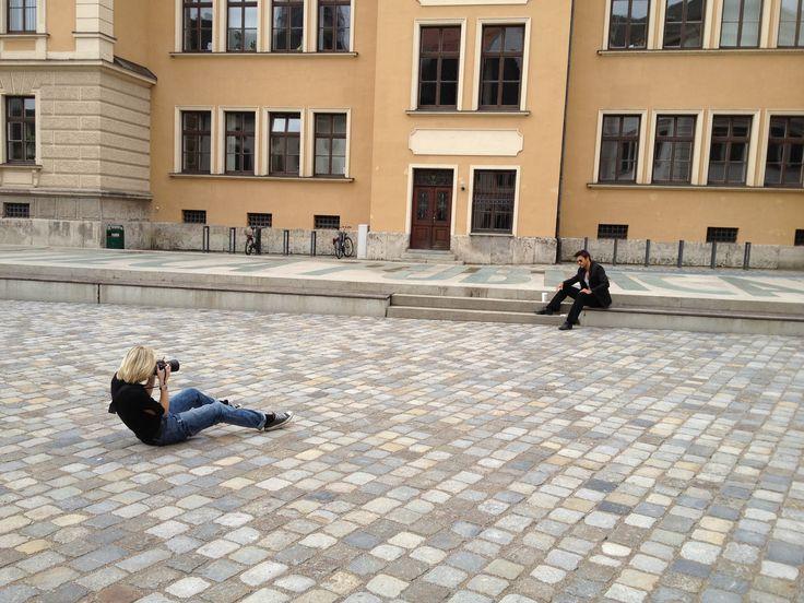Making of ..Shooting mit Chris Karn