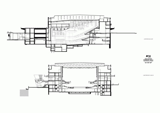 Elevation Hammer Hall/ARM Architecture.  Lovely drawings