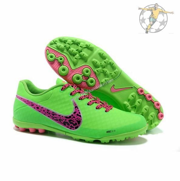 soccer cleats for girls | ... II Collection Total Grass Green Pink Toddler Girls Soccer Cleats