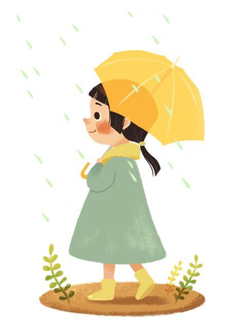 umbrellas.quenalbertini: Under the rain