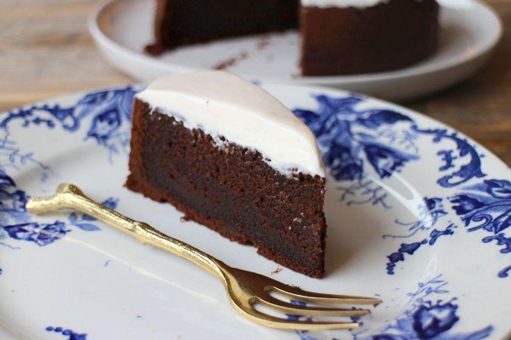 Culy Homemade: chocoladetaart met crème fraîche frosting