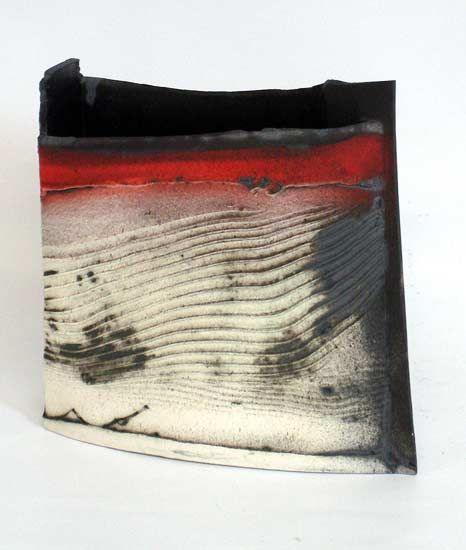 Ceramics by John Higgins at Studiopottery.co.uk - 2013. Constructed form- thrown and altered (3)