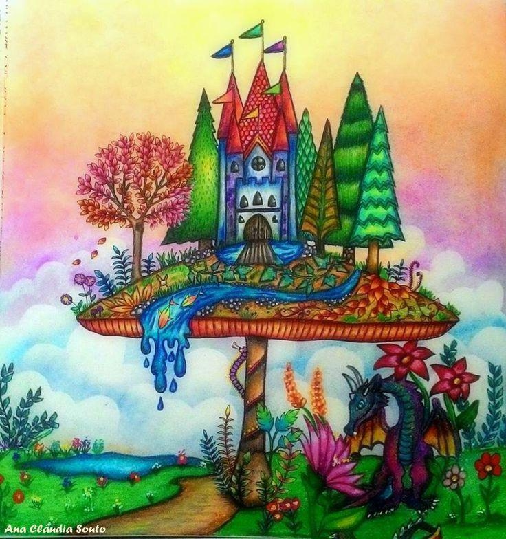 Mushroom Castle Enchanted Forest Castelo No Cogumelo