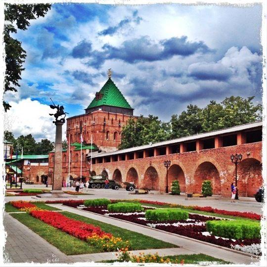 Нижегородский Кремль à Нижний Новгород, Нижегородская обл.
