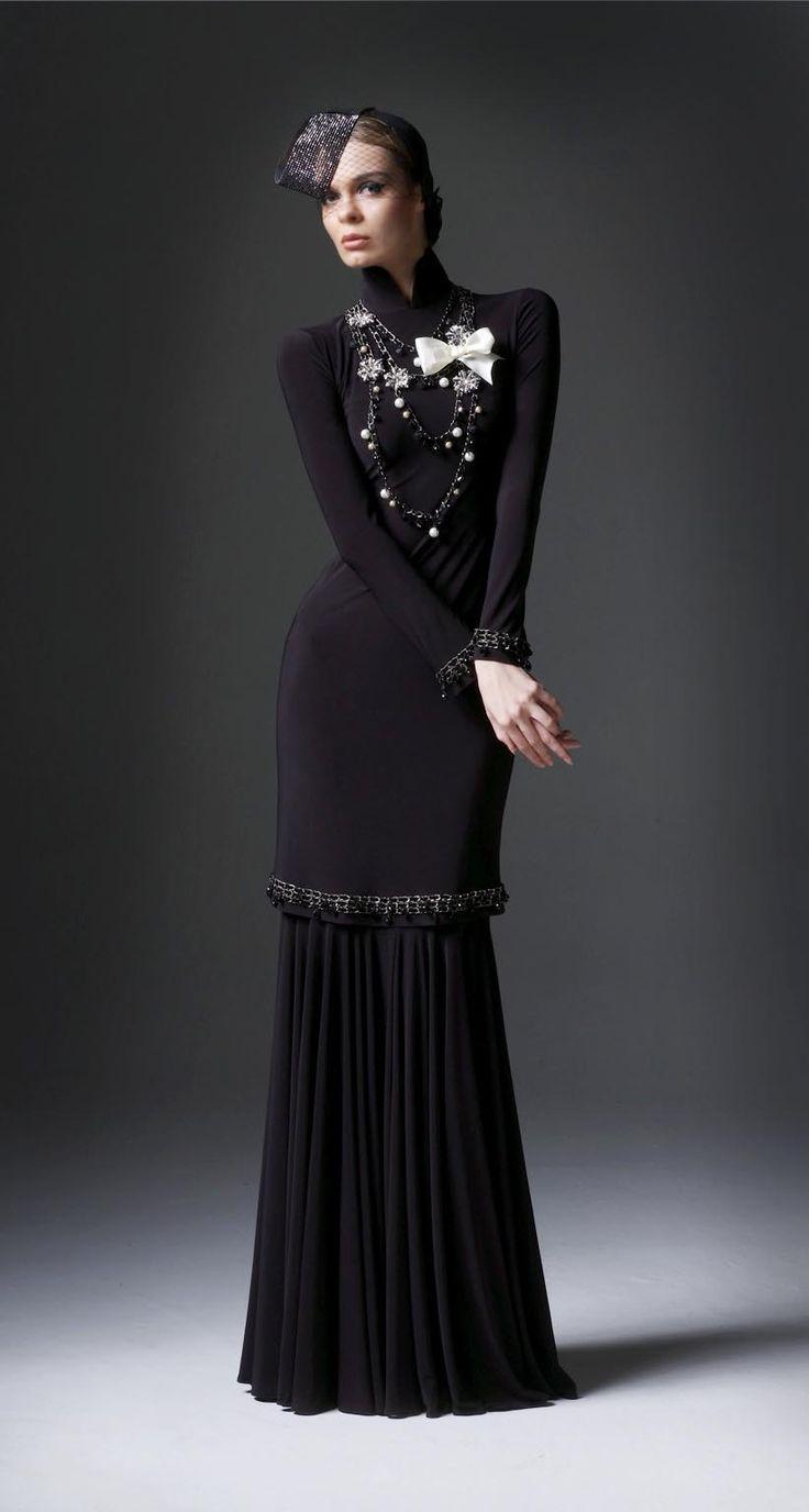 Baju kurung moden lovely