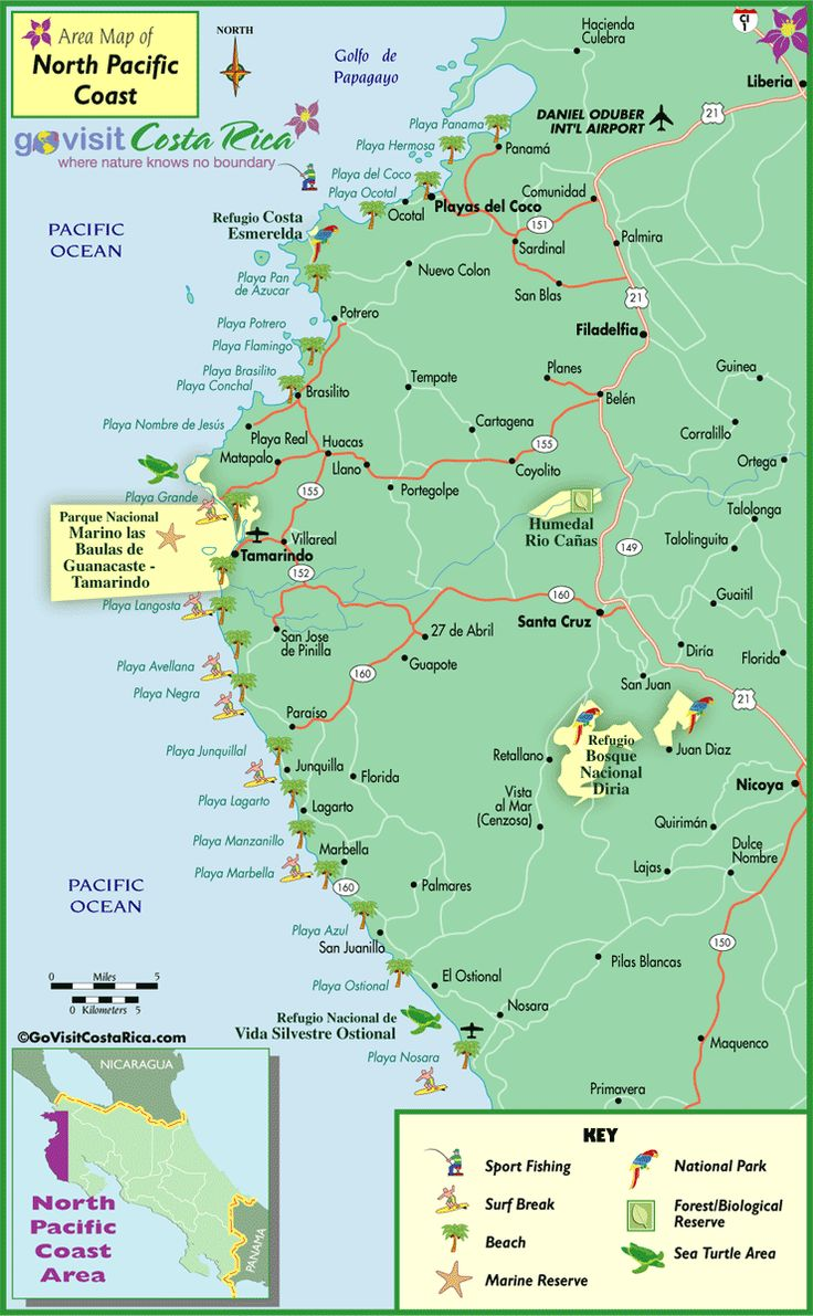 35 best Costa Rica Maps images on Pinterest | Travel info, Maps and ...
