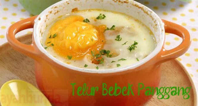 Telur Bebek Panggang :: Roast Duck Eggs :: Klik link di atas untuk mengetahui resep telur bebek panggang