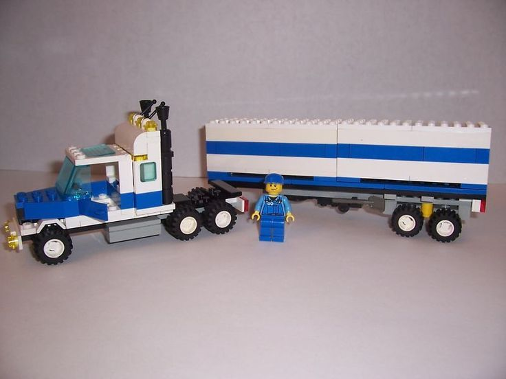 how to build a lego truck step by step
