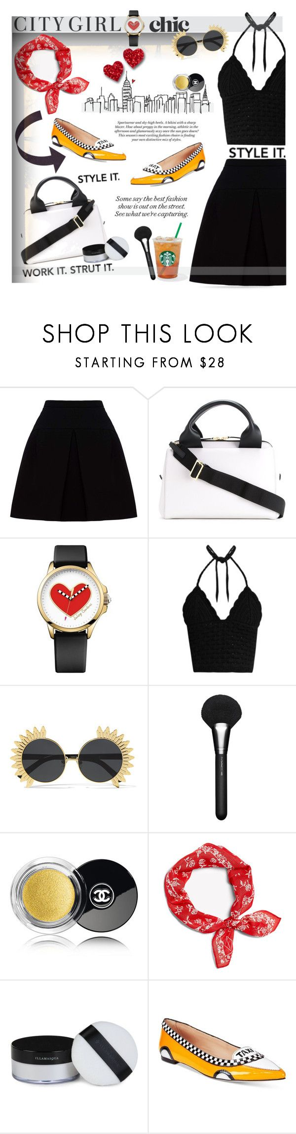 """Style It. ❤️💋"" by selmendonca ❤ liked on Polyvore featuring Trilogy, Miu Miu, Marni, Juicy Couture, RED Valentino, Linda Farrow, MAC Cosmetics, Chanel, Illamasqua and Kate Spade"