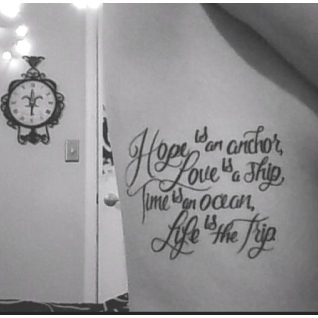Not3s Trekked Like Me Lyrics: 25+ Best Rip Tattoo Quotes On Pinterest