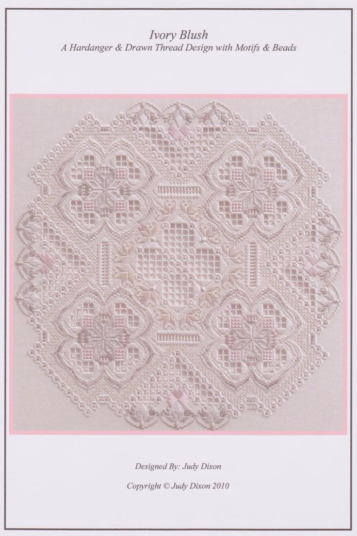 If you are a Hardanger fan, please take a look at www.talesinstitches.com where…