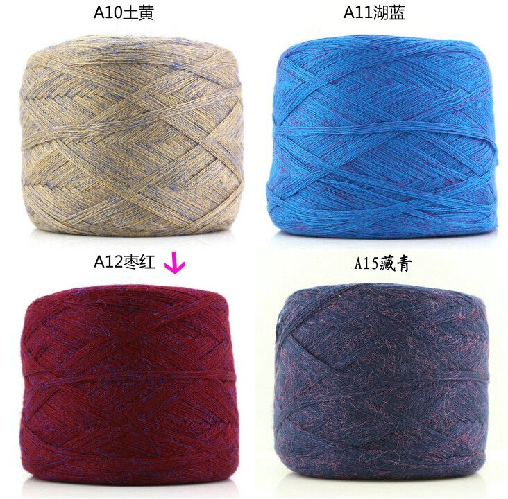 250 g / pcs. Colorful gold wire wool soft grip Hand crochet thick yarn for knitting cotton yarn Baby ZL55 cotton threads. buy Winmass Online Store store on AliExpress