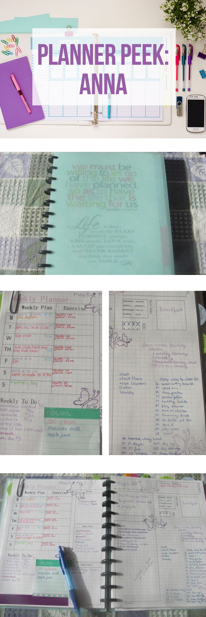 Take a tour of Anna's Planner