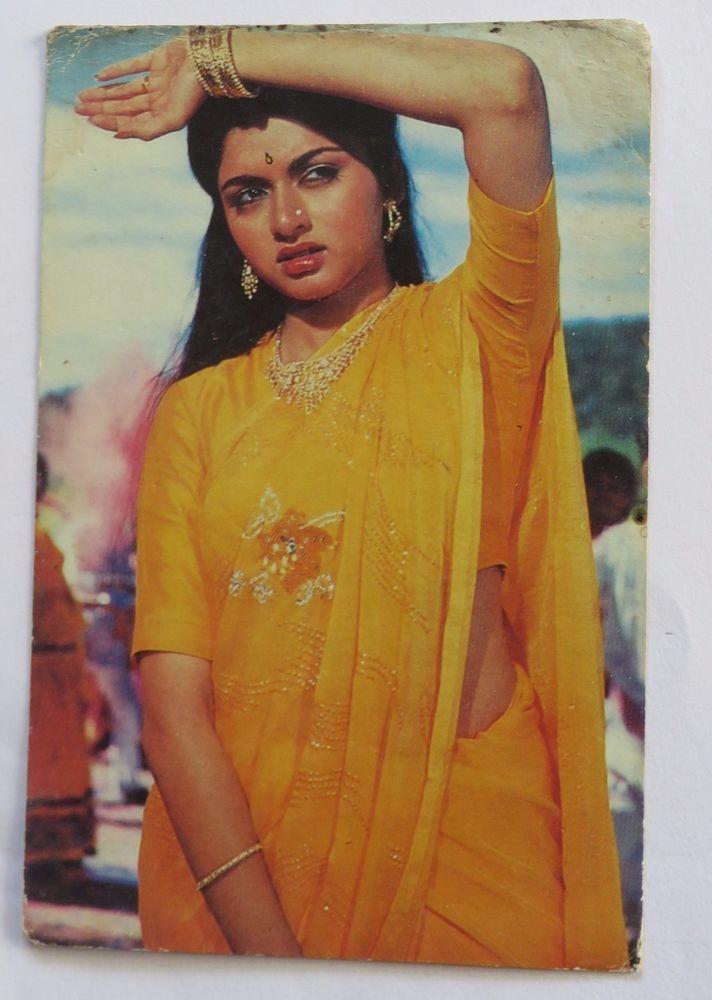 Indian BOLLYWOOD Picture Postcards Legendary BHAGYASHREE Patwardhan