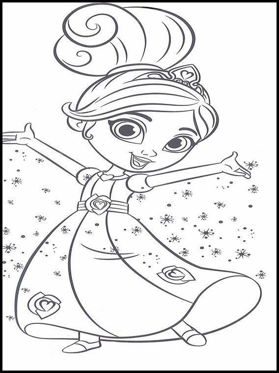 Nella the Princess Knight 10 Printable coloring pages for ...