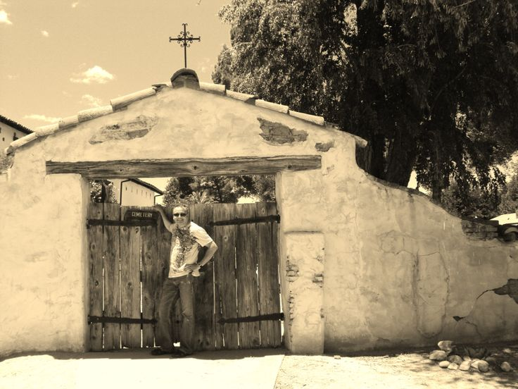 San Miguel Arcangel Mission - the 16th mission - found off the 101 in San Luis Obispo Co.
