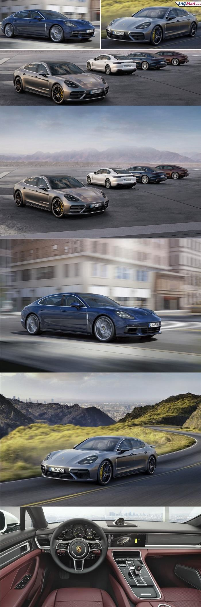 2017 Porsche Panamera Lineup Added Six New Models