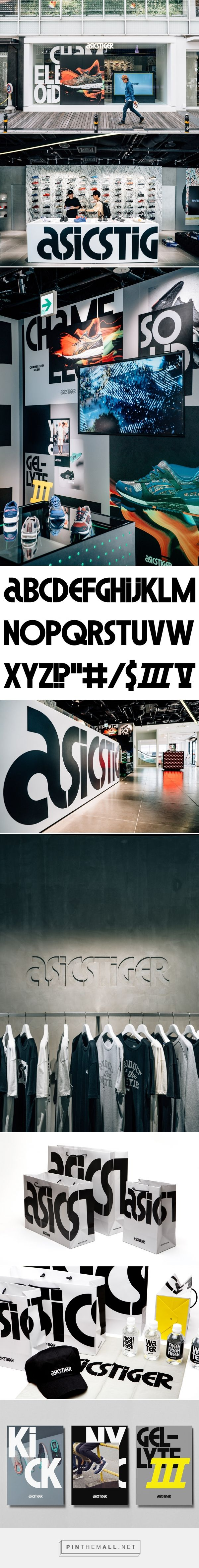 ASICS Tiger on Behance... - a grouped images picture - Pin Them All