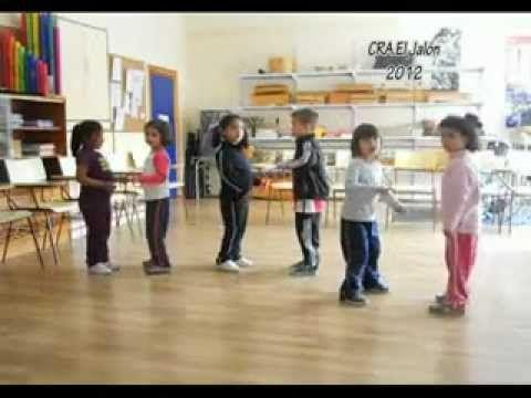 """""""El twist del Cuerpo"""" para Educación Infantil."""