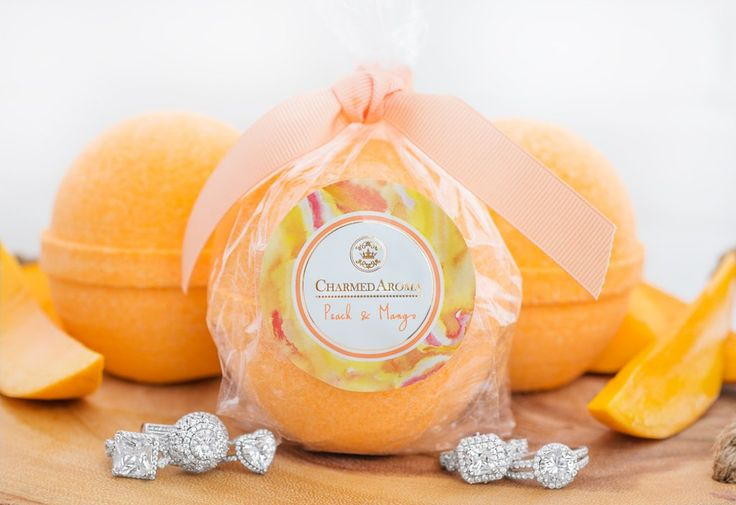 Sterling Bath Bombs - Peach & Mango