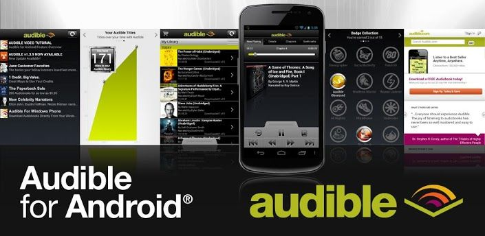 Audible for Android