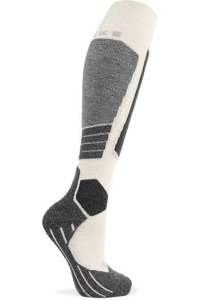 FALKE Ergonomic Sport System - Sk2 Knitted Socks - White -