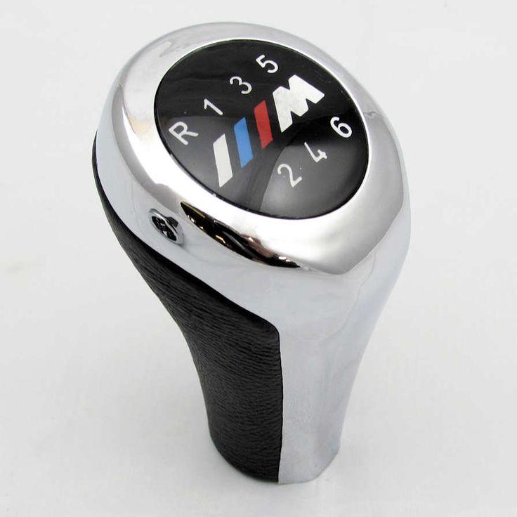 bmw m sport gear knob 6 speed chrome