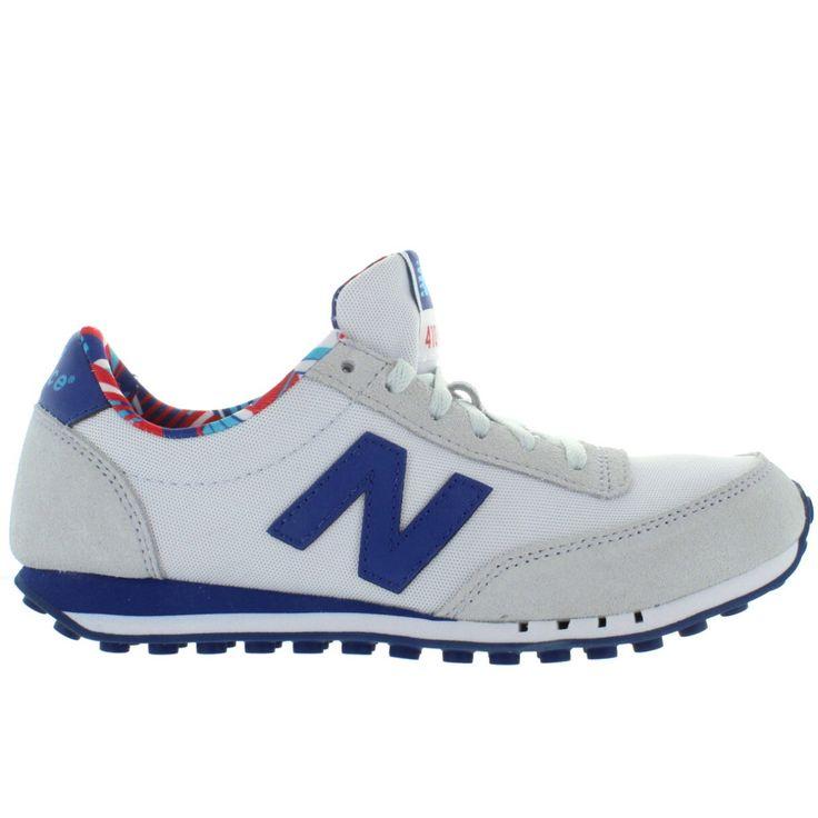 New Balance 410 Light Grey SuedeMesh Running Sneaker