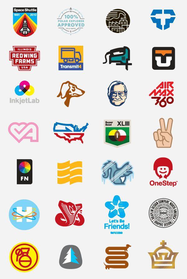 Aaron Draplin's Logos