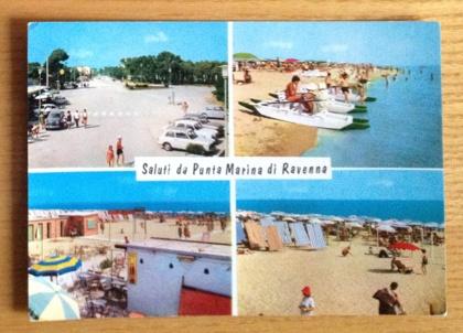 Saluti da Punta Marina #postcard