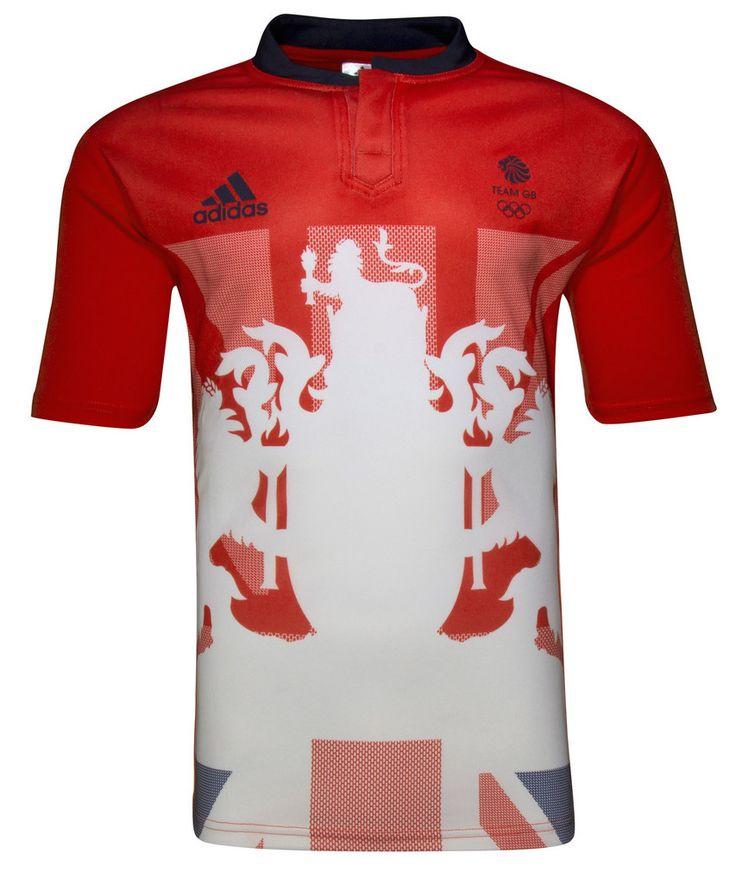 Rugby Shirt Watch • Team GB Rio 2016 Olympics Rugby Sevens Adidas...