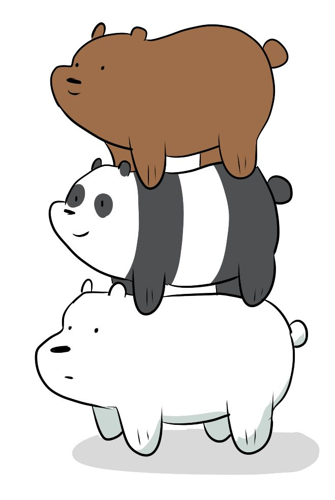 9 best we bare bears images on pinterest we bare bears animated rh pinterest com pictures of cartoon polar bears pictures of cartoon teddy bears