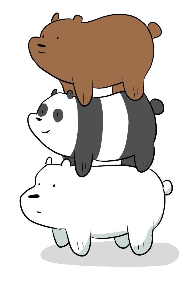 25 best We Bare Bears images on Pinterest  We bare bears, Panda and Panda bears