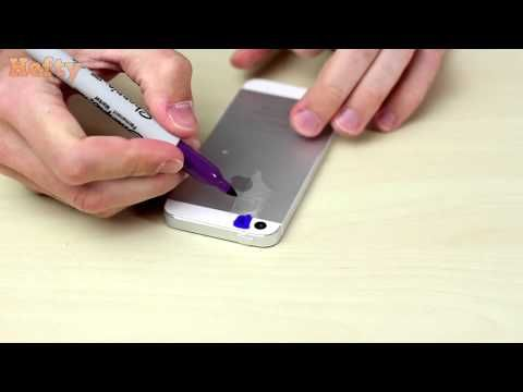 Using 2 Sharpies He Colors Over His Smartphone's Flash To Create A Very Useful Tool - NewsLinQ