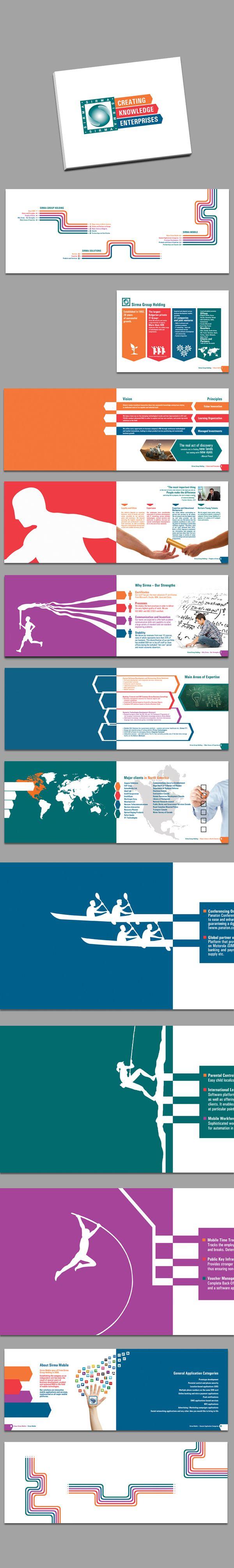 Corporate catalogue by Diliana Angelova, via Behance