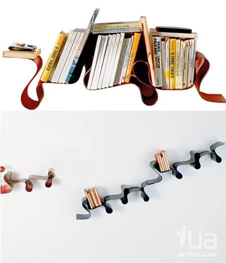 креативные книжные полки   Google Search