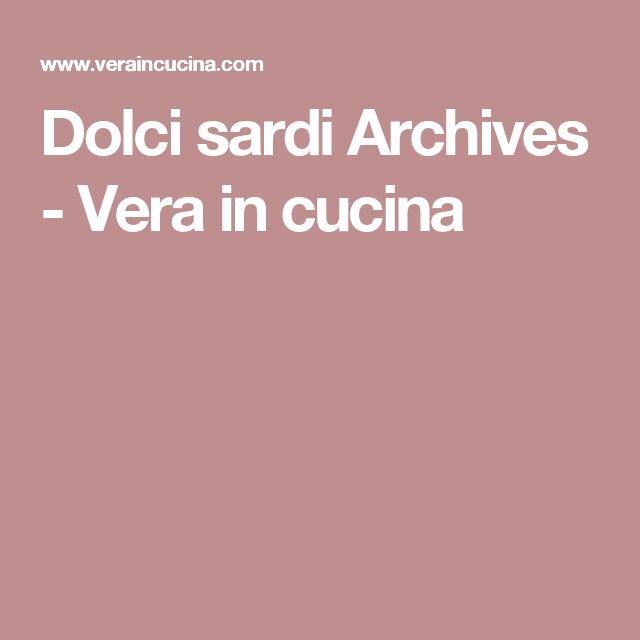 Dolci sardi Archives - Vera in cucina