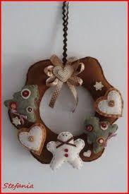 Risultati immagini per ghirlande natalizie shabby chic