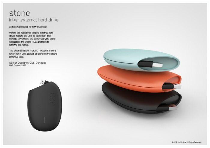 iriver portable HDD by matt day at Coroflot.com