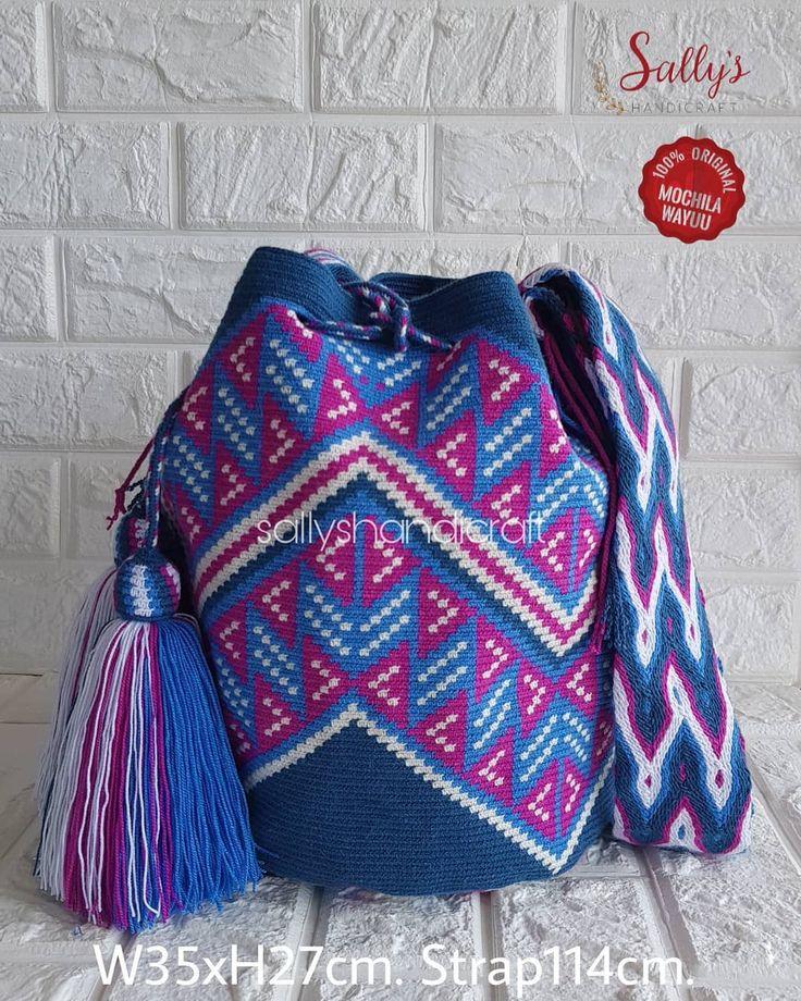 "35 Beğenme, 1 Yorum - Instagram'da กระเป๋าวายูแท้100% Wayúu bag (@sallyshandicraft): ""ขนาดมารตฐานLไหมเดี่ยวทั้งใบ ❌ใบนี้ไม่ใช่ไหมคู่นะคะ สายทอโฮโซแท้ งานทอละเอียด…"""