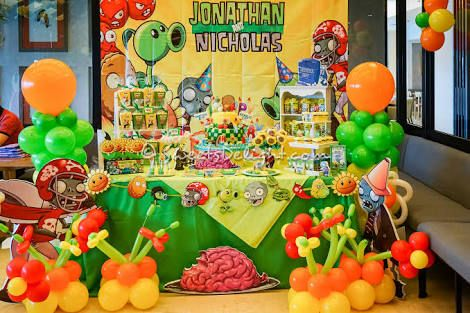 75 best plants vs zombies party images on pinterest for Table zombies pdf