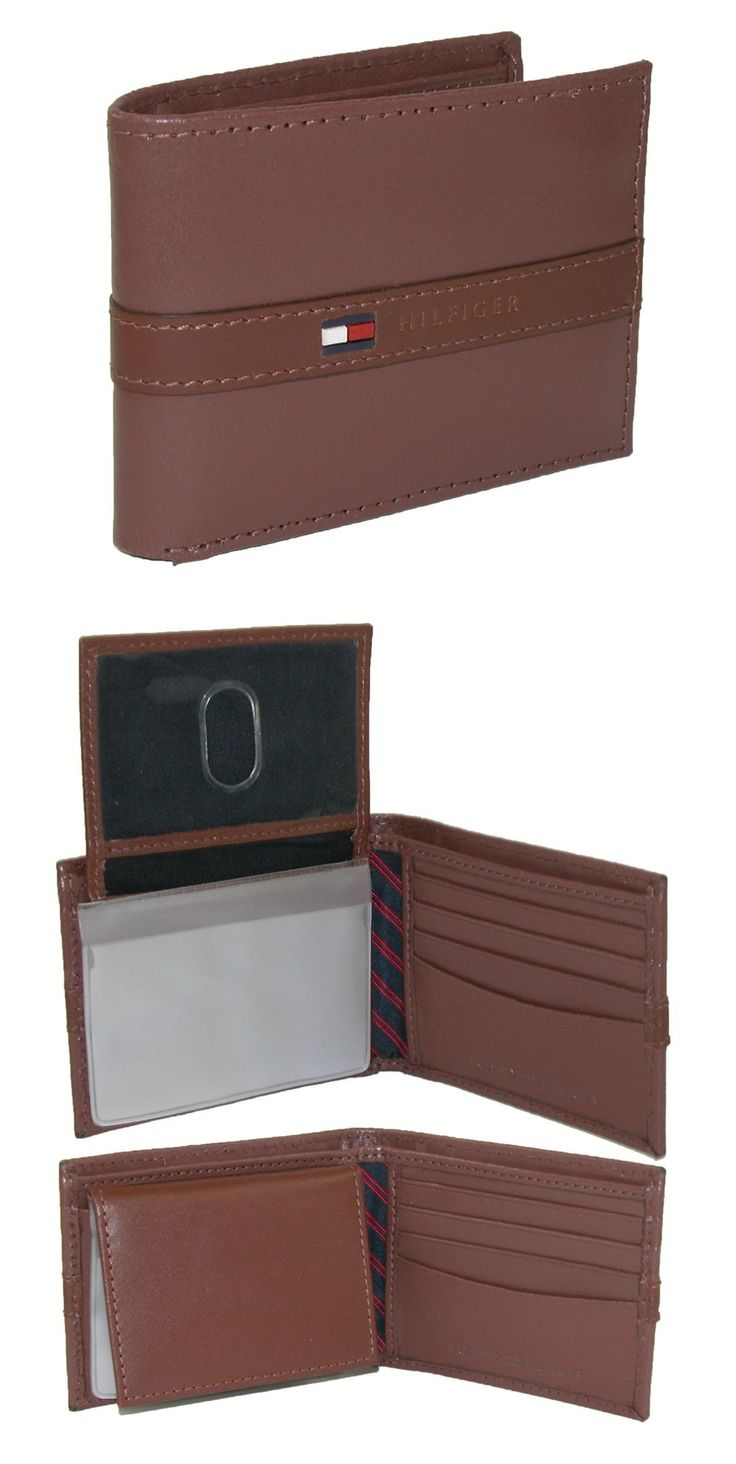 This Tommy Hilfiger passcase wallet has numerous compartments to keep everything you need together and organized. It has a stylish and sophisticated look that is great for any occasion and is the perfect gift for all ages.
