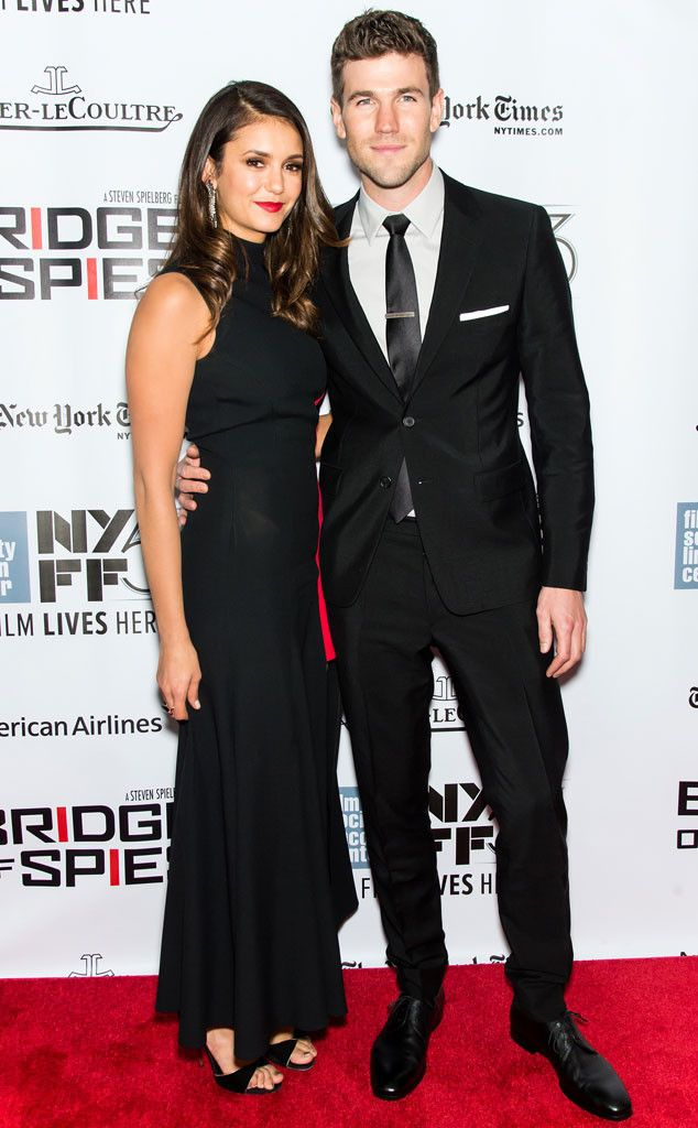 Nina Dobrev and Austin Stowell Make Their Red Carpet Debut as a Couple: See Pics From the Bridge of Spies Premiere Nina Dobrev, Austin Stowell