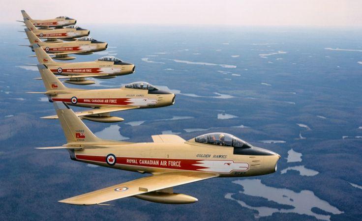 Canadian Air Force (RCAF) Golden Hawks